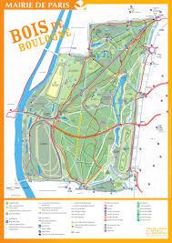 Maps Of Paris France by Map Of The Bois De Boulogne Http Map Of Paris Com Parks