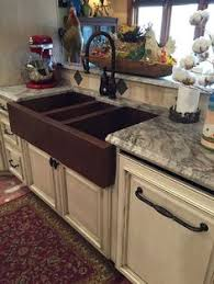 Sink Designs Kitchen Copper Farmhouse Sink Brick Design Apron 33x22x9 Rts Cf Br