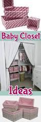 Nursery Closet Organization Ideas 100 Best Nursery Closet Organization U2022 Images On Pinterest Baby