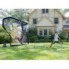 the net return backyard soccer goal net and rebounder amazon co