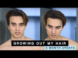men growing hair out stages growing out an undercut the early stages men s long hair