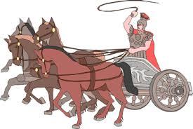 roman chariot with horse clip art u2013 cliparts