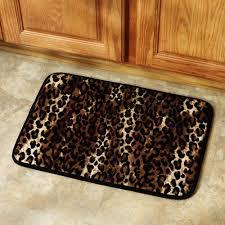 Leopard Bathroom Rugs Enjoyable Animal Print Bath Mats Rugs Design 2018