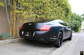 matte red bentley bentley gt black di forza bm12 savini wheels theotis beasley