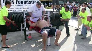 Olympic Record Bench Press Man Attempts 725 Pound World Record Bench Press In Minneola