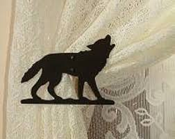 Wolf Curtains Wolf Curtains Etsy