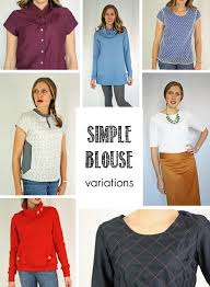 blouse sewing patterns running with scissors simple blouse pdf sewing pattern