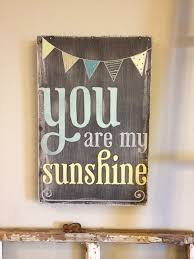 kitchen chalkboard ideas you are my sunshine chalkboard look with painted bunting