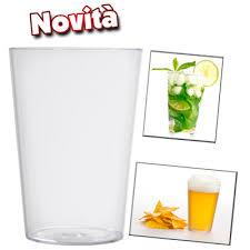 costo bicchieri di plastica bicchieri di plastica da birra conici infrangibili e riutilizzabili