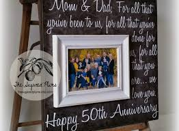 50th anniversary gift ideas for parents 50th wedding anniversary gift ideas awesome parents anniversary