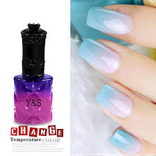amazon com temperature color changing gel nail polish nail art uv