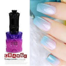 amazon com 15ml temperature change color soak off nail art uv gel