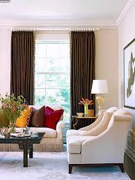 Wohnzimmer Einrichten Sch Er Wohnen Einrichten Wohnzimmer In Weiß Und Braun Mit Wandfüllendem