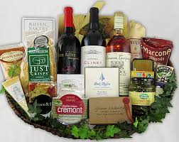 wine and cheese gift baskets fancifull gift baskets los angeles california