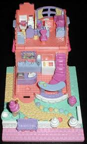 1995 polly pocket ice cream parlor