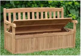 Wooden Storage Bench Charming Component Patio Storage Bench For Your Outdoor Bedroomi Net
