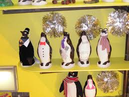 penguin lawn ornaments penguin place post