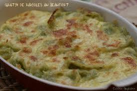 cuisiner les ravioles ravioles du dauphiné gratinées au beaufort cuisine guylaine