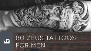 big tattoos for men 80 zeus tattoos for men youtube