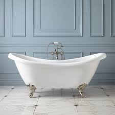 bathroom 69 inch candace acrylic clawfoot tub imperial feet bathroom