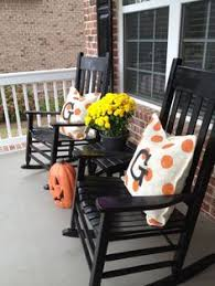 i love the black i can spraypaint my rocker black neat porch