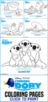 free printables finding dory coloring pages all mommy wants
