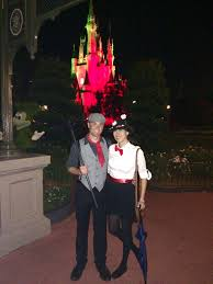 couples scary halloween costume ideas couple costume idea mary poppins and bert costume for mickey u0027s