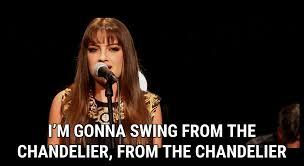 Lyrics To Chandelier Chandelier Lyrics Sia Song In Images