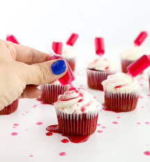 edible blood a kailo chic eat it bloody spiked cupcakes