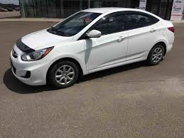 hyundai accent milage used 2013 hyundai accent gl low mileage in grand falls used