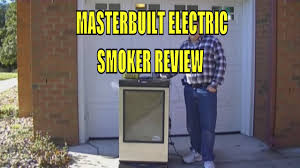 masterbuilt electric smoker review youtube