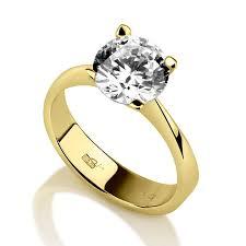 betrothal ring 0 7 carat authentic cut solitiare diamond 14k yellow gold