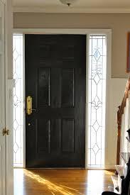 front doors good coloring painting a front door black 125