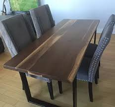 U Shaped Table Legs Contrast Living Handmade Furniture Portfolio