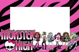 monster invitation monster high free printable party invitations is it for