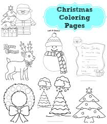 christmas cards coloring pages christmas lights decoration