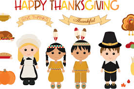 thanksgiving characters by cindi gilmou design bundles