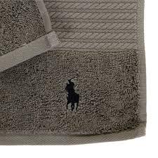 buy ralph lauren home player towel pebble amara