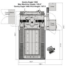 imts floor plan gantry eagle 1400 sinker edm machines mc machinery systems
