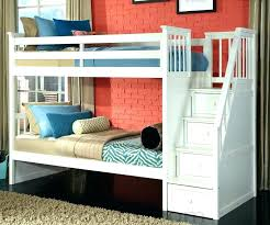 Bunk Beds Storage Bunk Bed With Stairs Plans Loft Bed With Stairs Building Plans