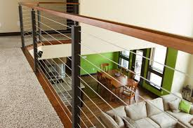 rzr vision cable railing system modern loft modern living