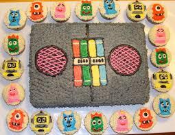 door county custom cakes cookies yo gabba gabba cake