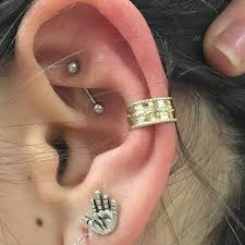 conch piercing cuff 21 inner outer conch piercing inspirational exles