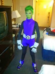 Beast Boy Halloween Costume Mysterymommy Beast Boy