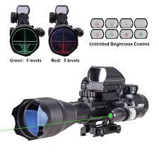 pinty 4 16x50 aoeg tactical 22 rail mount long rifle scope