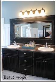 decorative mirrors crown molding ideas for around mirror framing a