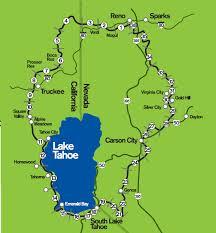 Reno Map Weekend Wanderluster Reno Tahoe Odyssey 2016 Lake Tahoe Nevada