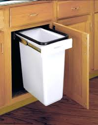 simplehuman in cabinet trash can kitchen cabinet trash can pull out convert kitchen cabinet to trash