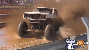 monster trucks racing in mud video hydroplaning mega truck dominates autocross style mud track