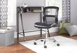 Mainstays Black Student Desk by Amazon Com Mainstays Vinyl And Mesh Task Chair Black Blue
